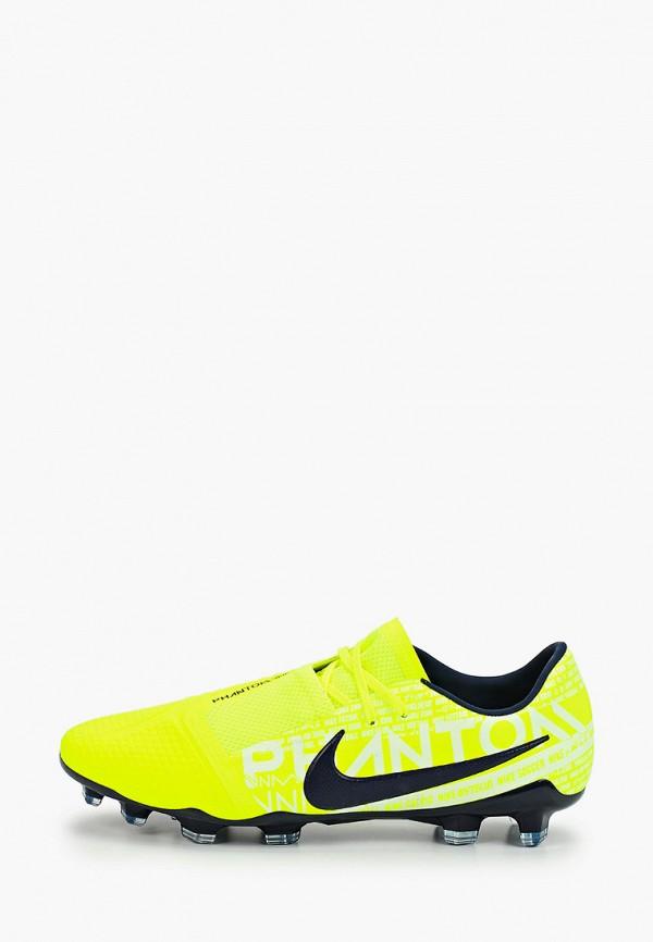 Фото - Бутсы Nike зеленого цвета