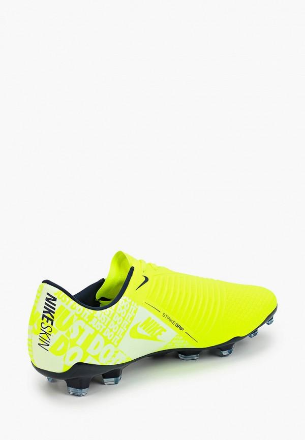 Фото 3 - Бутсы Nike зеленого цвета