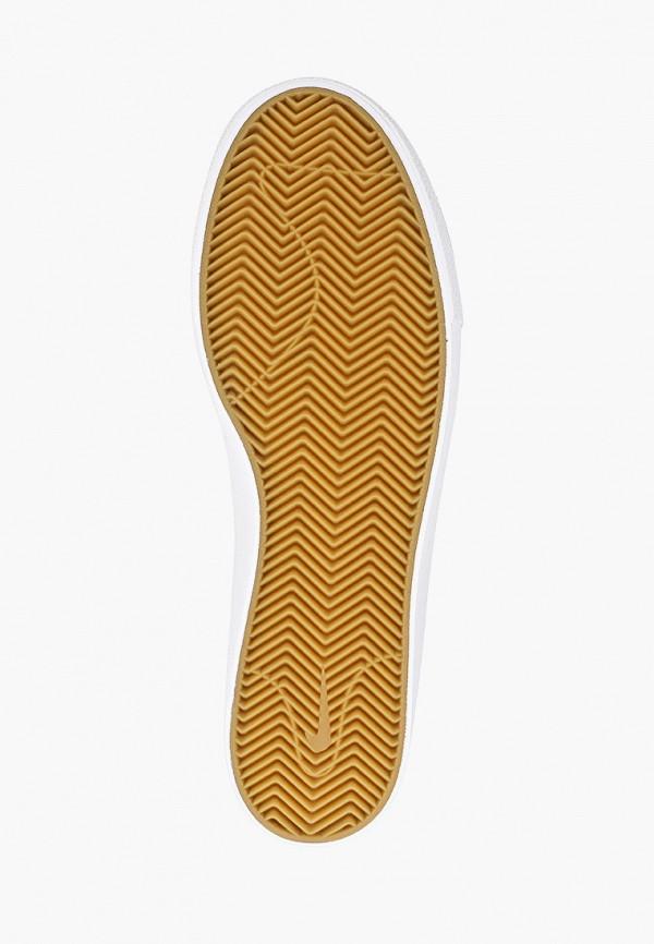 Фото 5 - мужские кеды Nike серого цвета