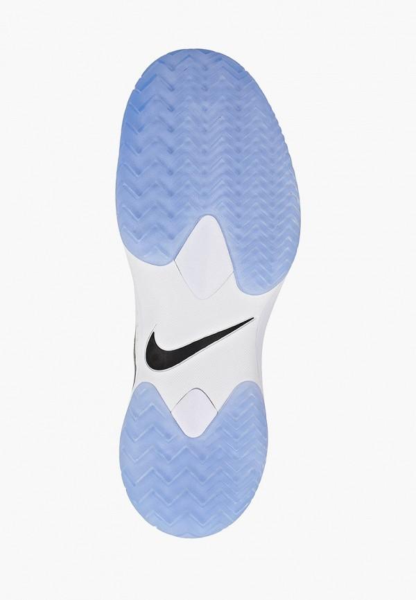 Фото 5 - мужские кроссовки Nike белого цвета