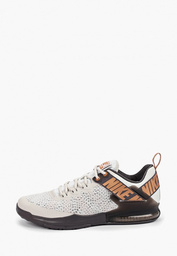 Фото - мужские кроссовки Nike серого цвета