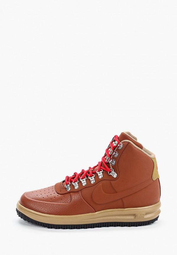 мужские ботинки nike, коричневые