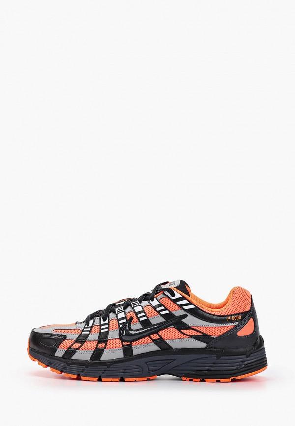 мужские кроссовки nike, оранжевые