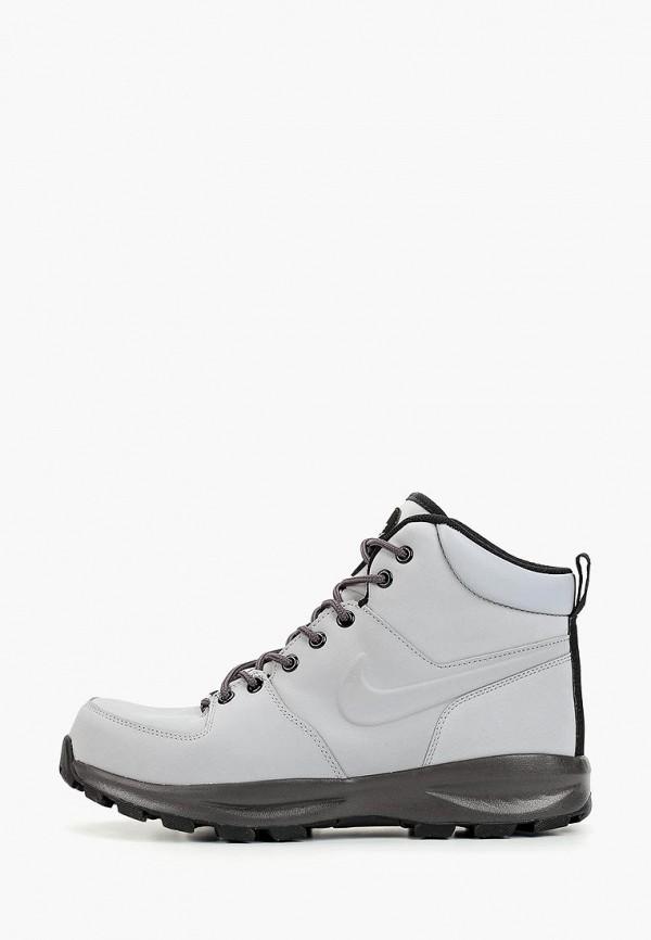 мужские ботинки nike, серые