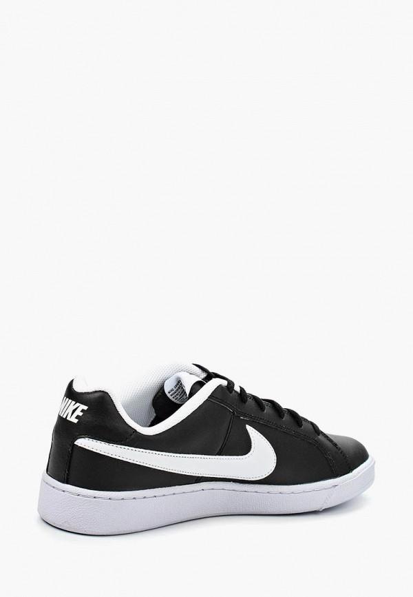 Фото 2 - мужские кеды Nike черного цвета