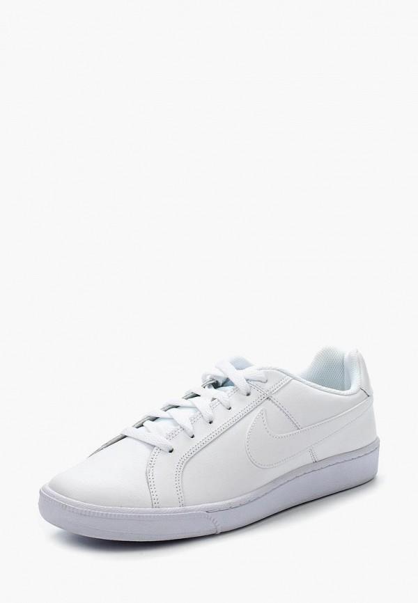 Фото - мужские кеды Nike белого цвета