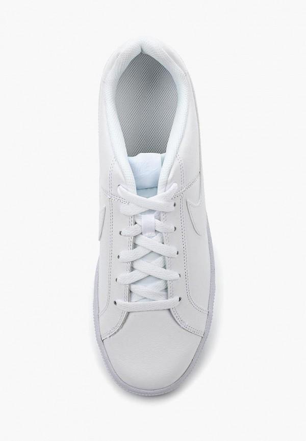 Фото 4 - мужские кеды Nike белого цвета
