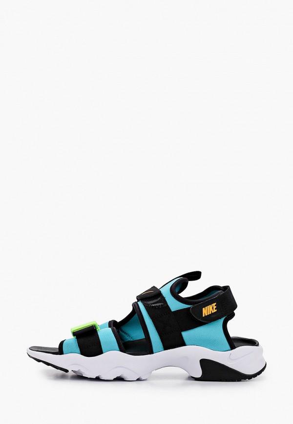 мужские сандалии nike, разноцветные