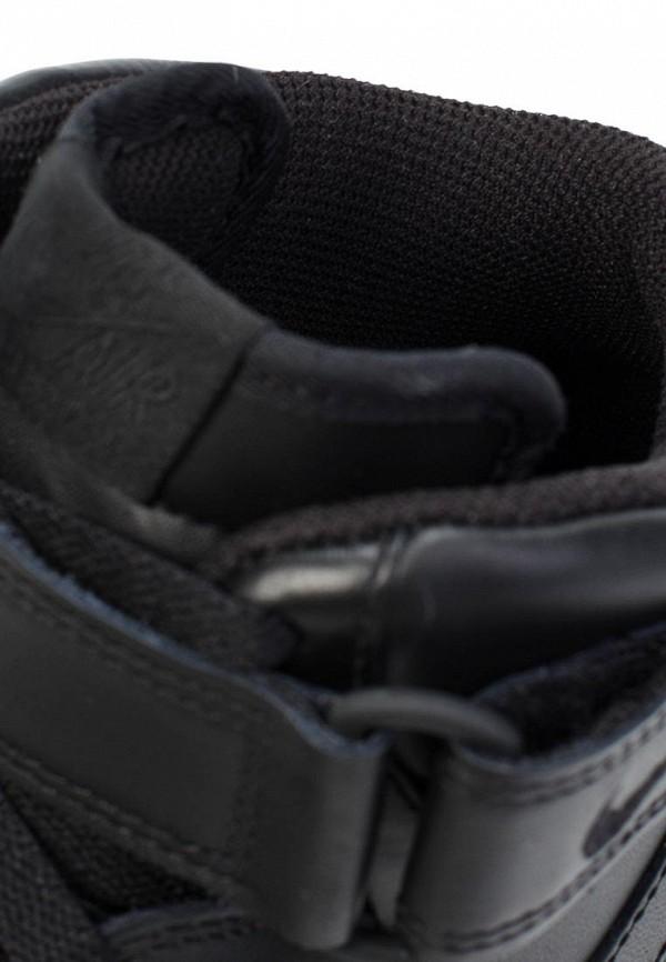 Фото 7 - мужские кеды Nike черного цвета