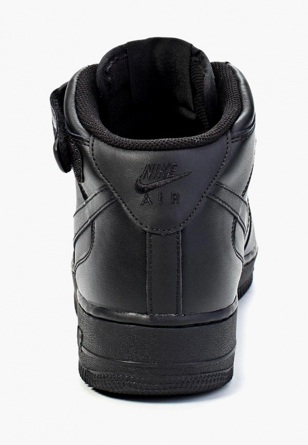 Фото 9 - мужские кеды Nike черного цвета