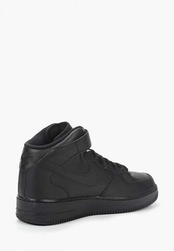 Фото 16 - мужские кеды Nike черного цвета