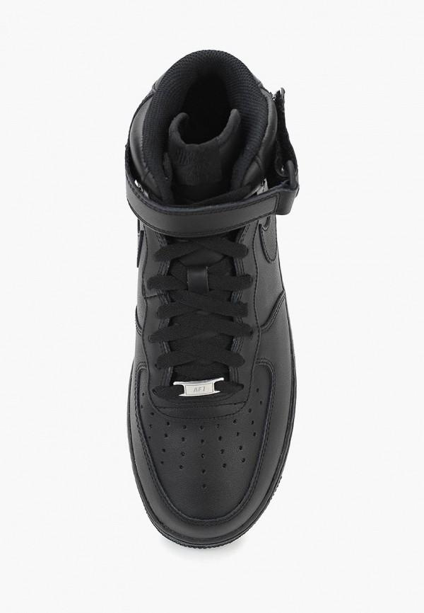 Фото 18 - мужские кеды Nike черного цвета