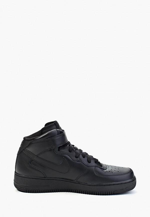 Фото 12 - мужские кеды Nike черного цвета