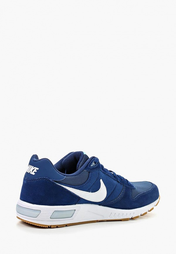 Фото 2 - мужские кроссовки Nike синего цвета
