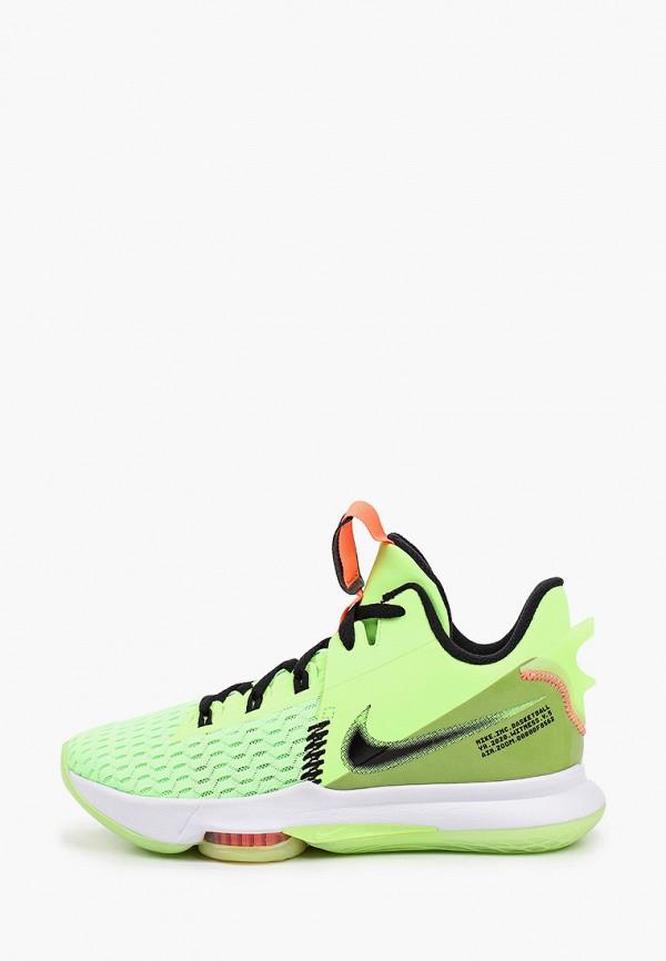 мужские низкие кроссовки nike, зеленые