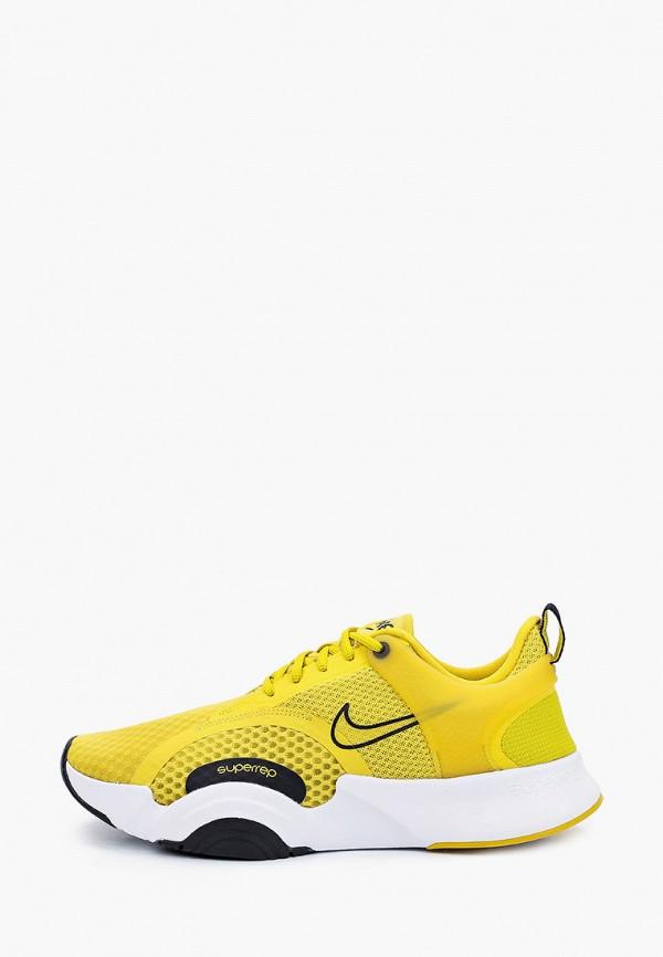 мужские низкие кроссовки nike, желтые