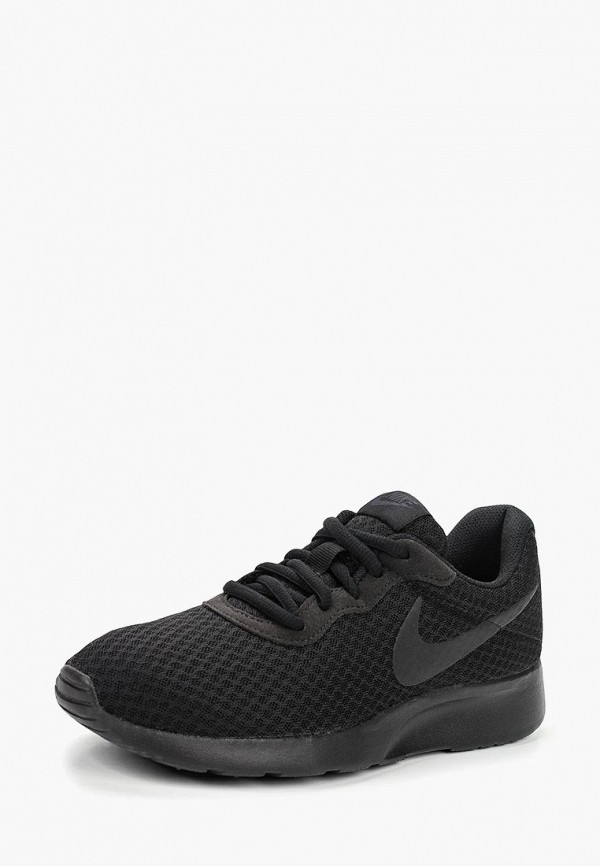 Фото 7 - мужские кроссовки Nike черного цвета