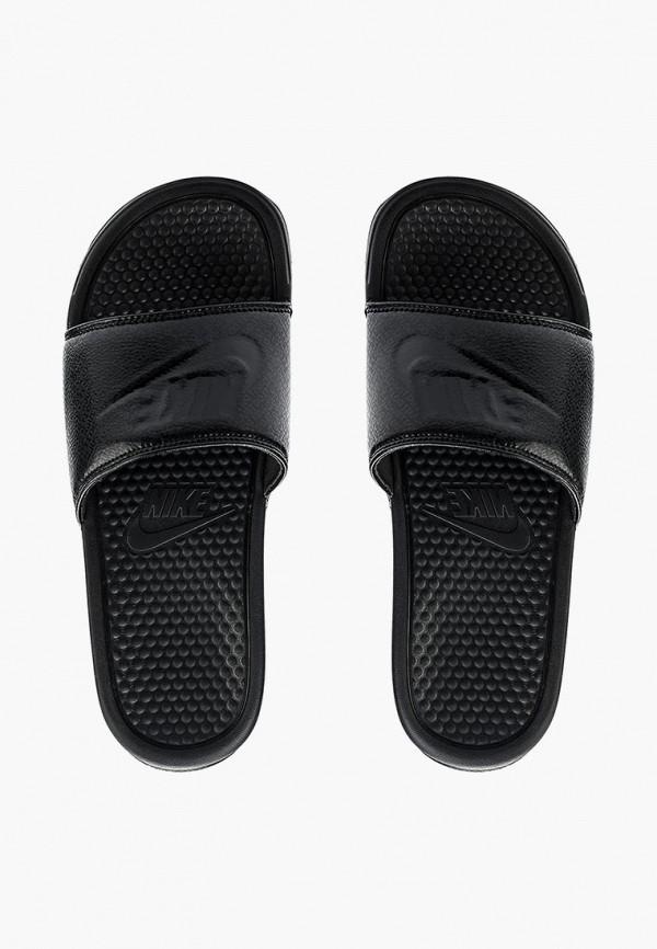 Фото 2 - мужские сандали Nike черного цвета