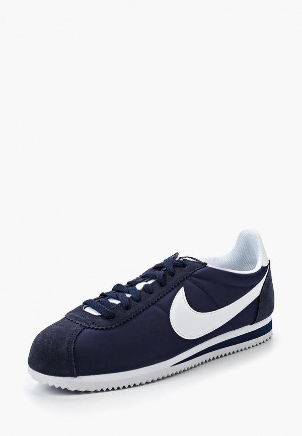 Фото - мужские кроссовки Nike синего цвета