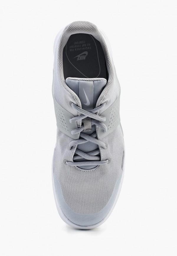 Фото 4 - мужские кроссовки Nike серого цвета