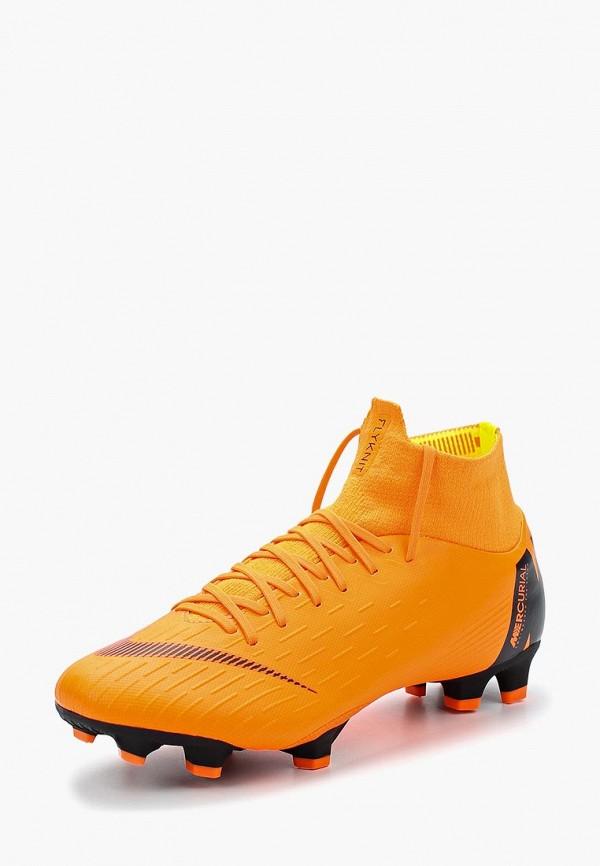 Купить Бутсы Nike, SUPERFLY 6 PRO FG, NI464AUAAPJ7, оранжевый, Весна-лето 2018