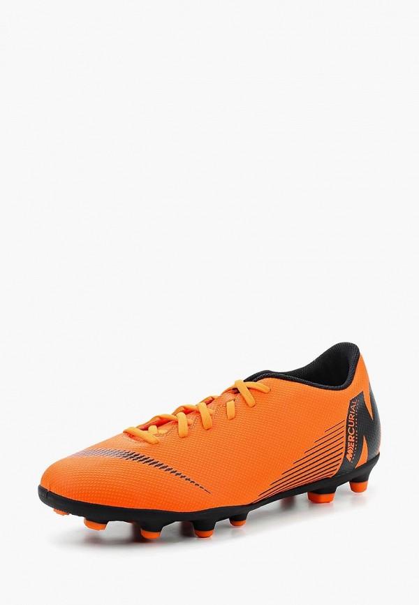 Бутсы Nike Nike NI464AUAAQE7 nike бутсы мужские nike vapor 12 club cr7 mg