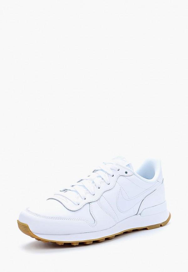 Купить женские кроссовки Nike белого цвета