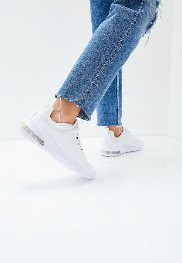 Фото 5 - женские кроссовки Nike белого цвета