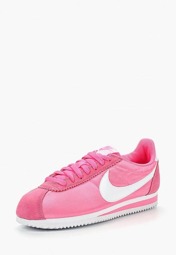 Купить Кроссовки Nike, WMNS CLASSIC CORTEZ NYLON, NI464AWBWRV4, розовый, Осень-зима 2018/2019