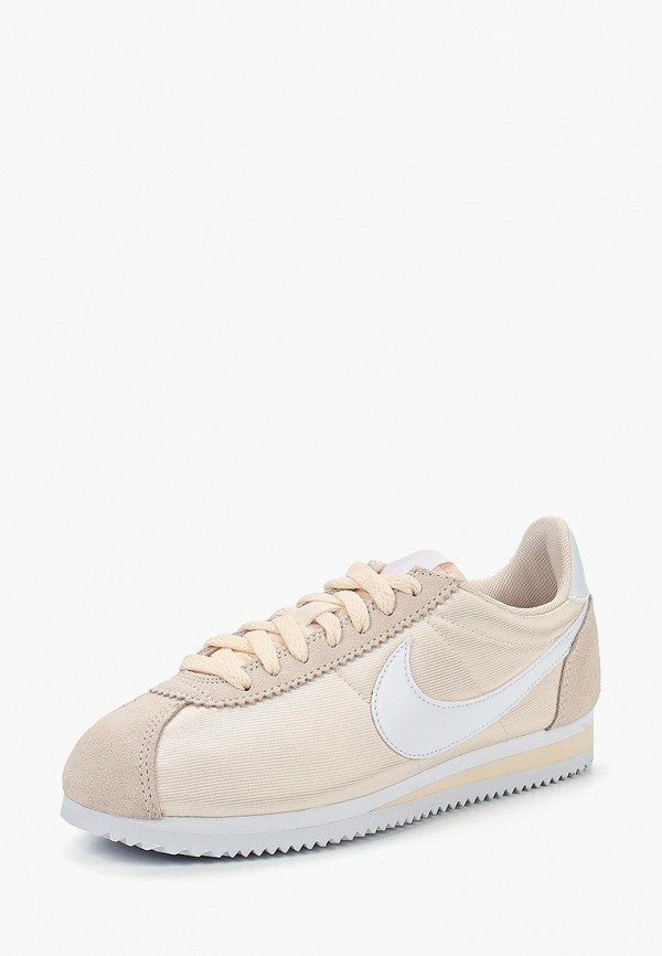 Купить Кроссовки Nike, WMNS CLASSIC CORTEZ NYLON, NI464AWBWRV5, бежевый, Осень-зима 2018/2019