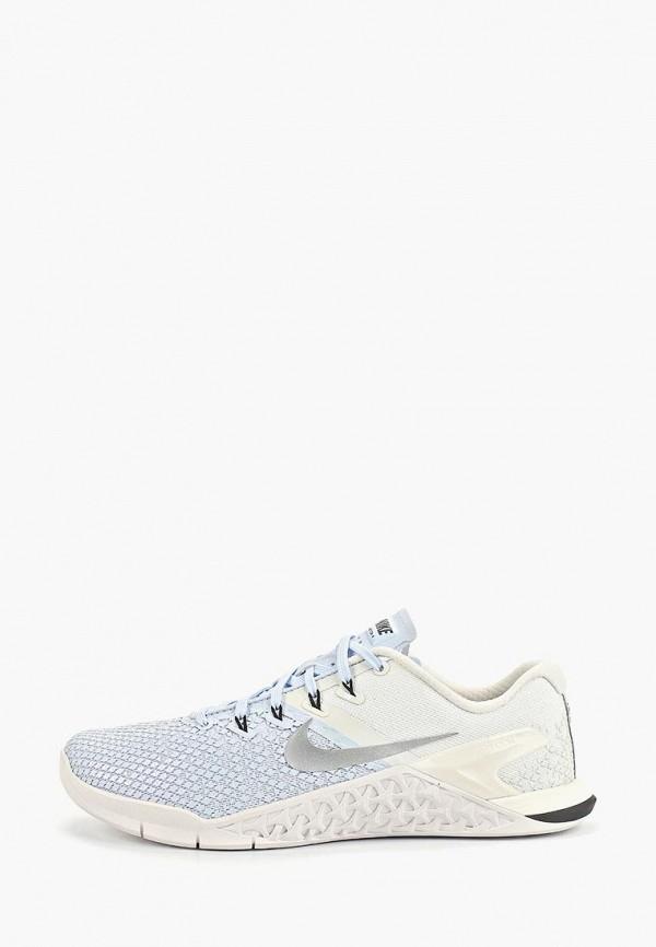 Фото - женские кроссовки Nike голубого цвета