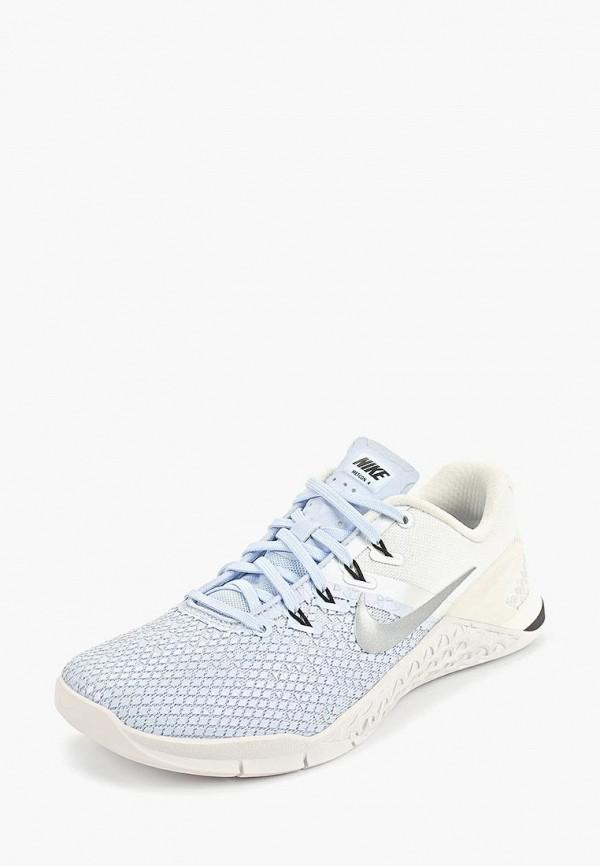 Фото 3 - женские кроссовки Nike голубого цвета