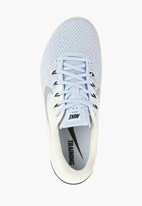 Фото 4 - женские кроссовки Nike голубого цвета