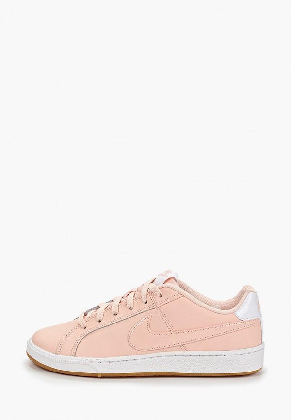 Фото - женские кеды Nike розового цвета