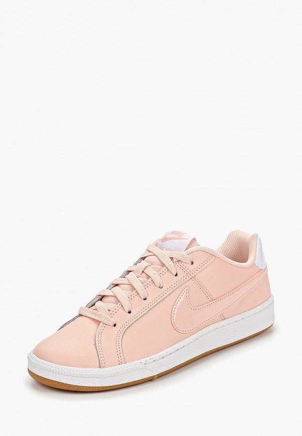 Фото 2 - женские кеды Nike розового цвета