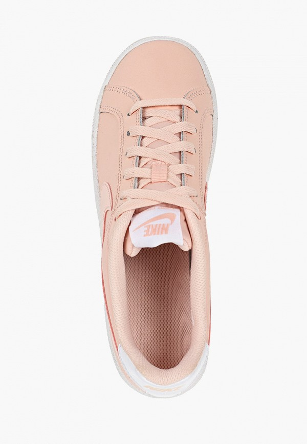 Фото 4 - женские кеды Nike розового цвета