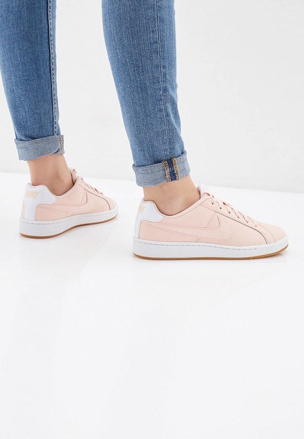 Фото 6 - женские кеды Nike розового цвета