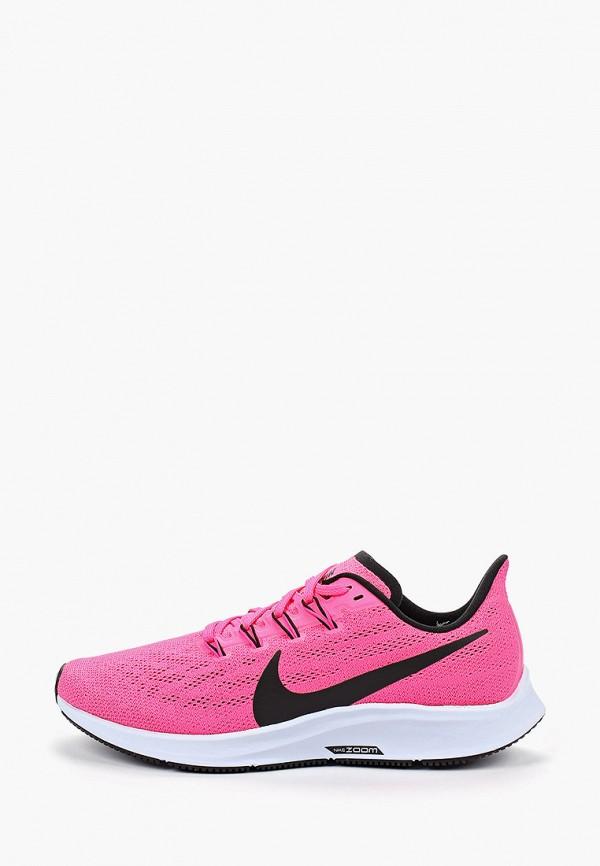 Купить женские кроссовки Nike розового цвета