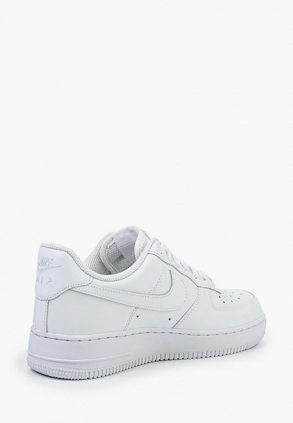 Фото 10 - женские кроссовки Nike белого цвета