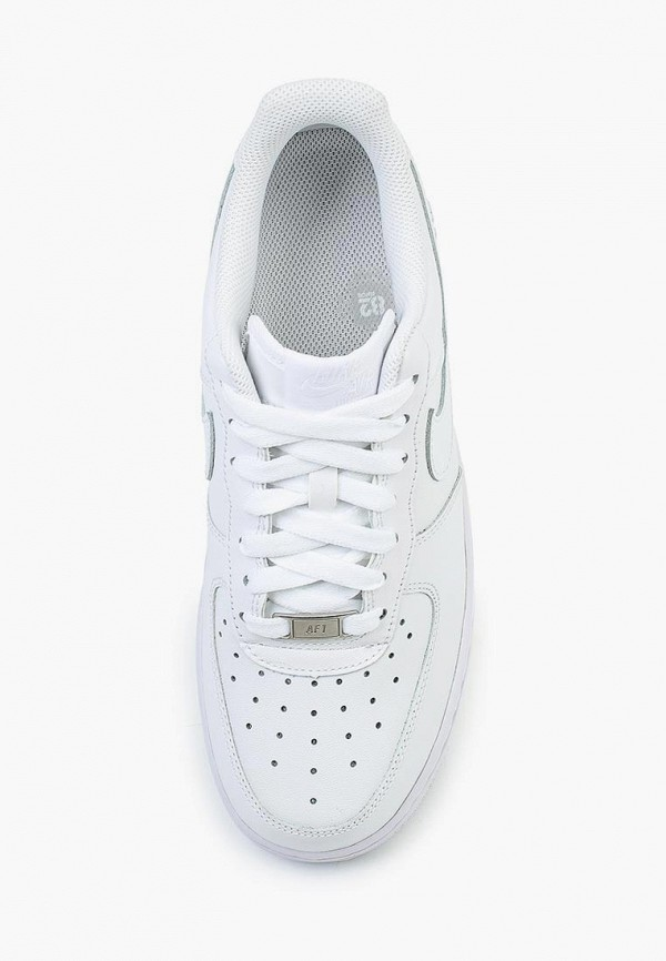 Фото 12 - женские кроссовки Nike белого цвета