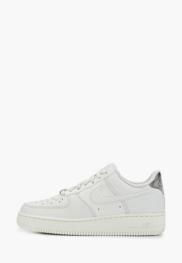 Фото - женские кеды Nike белого цвета