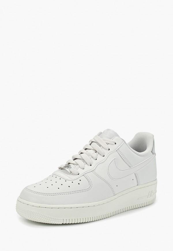 Фото 2 - женские кеды Nike белого цвета