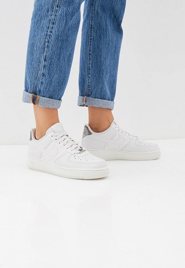 Фото 6 - женские кеды Nike белого цвета