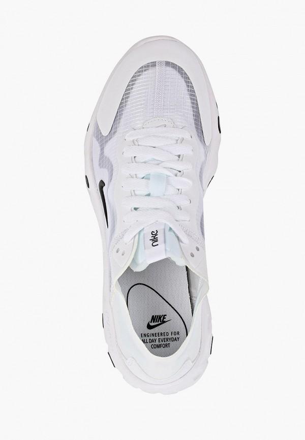 Фото 4 - женские кроссовки Nike белого цвета