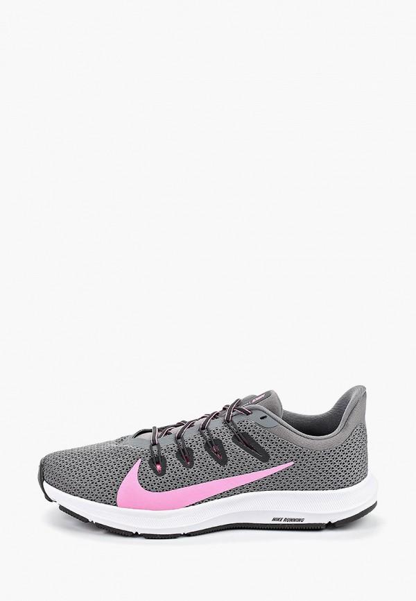 Фото - женские кроссовки Nike серого цвета