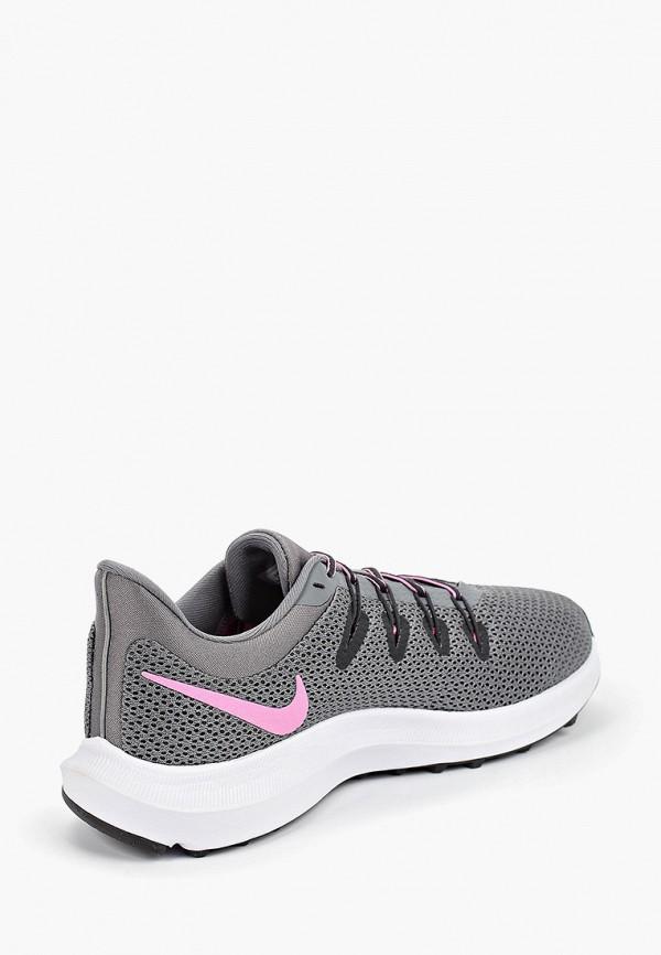 Фото 3 - женские кроссовки Nike серого цвета