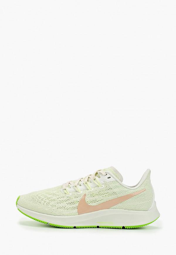 Фото - женские кроссовки Nike зеленого цвета