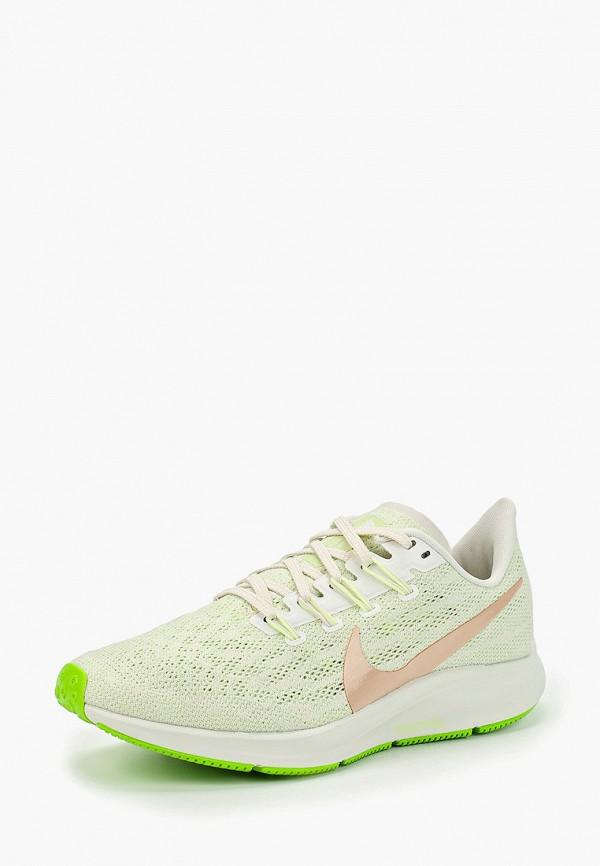 Фото 2 - женские кроссовки Nike зеленого цвета