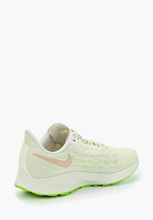 Фото 3 - женские кроссовки Nike зеленого цвета