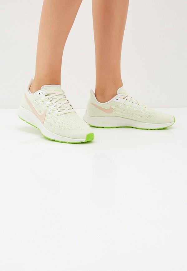 Фото 6 - женские кроссовки Nike зеленого цвета